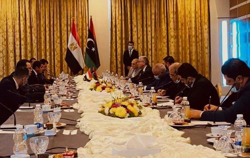 Kahire ve Trablus heyetleri, Cenevre sonuçlarını görüştü