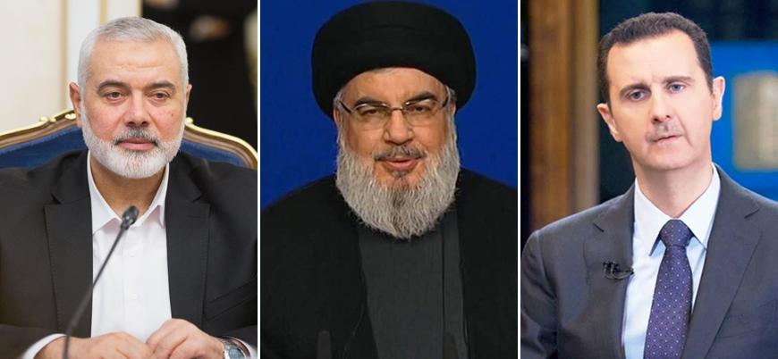 Hizbullah lideri, Hamas ve Esad rejimi için devrede!