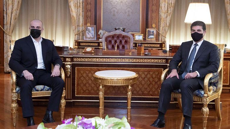 Neçirvan Barzani, Bafil Talabani'yi kabul etti