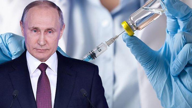 Putin'den aşı talimatı: Büyük ölçekli uygulansın...