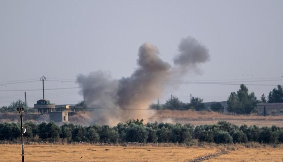 SMO güçleri, Ayn İsa'ya yönelik top saldırısını sürdürdü