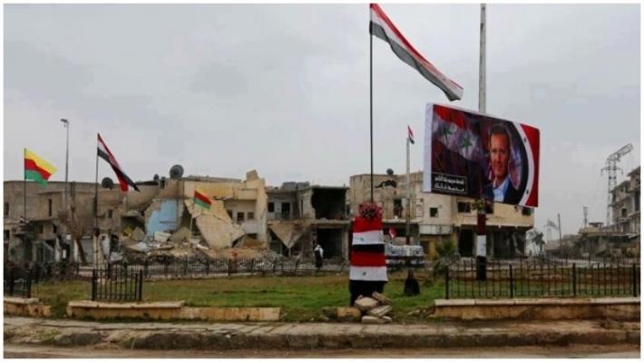 Esad rejiminin 'DSG, İsrail ile koordineli' iddiasına yanıt