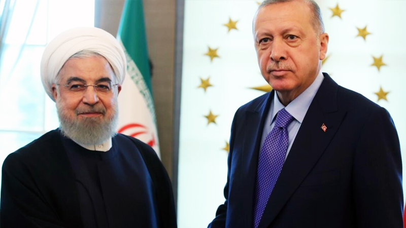 Erdoğan ile Ruhani, Fahrizade suikasti ve ikili ilişkileri görüştü