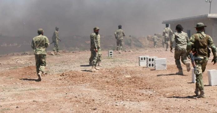 Efrin'de SMO karargahında patlama!