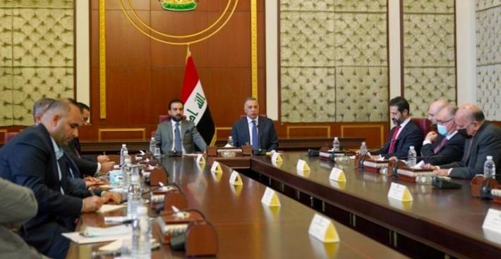 Erbil heyeti, Irak yönetimi ile 'Borçlanma Yasası'nı görüştü