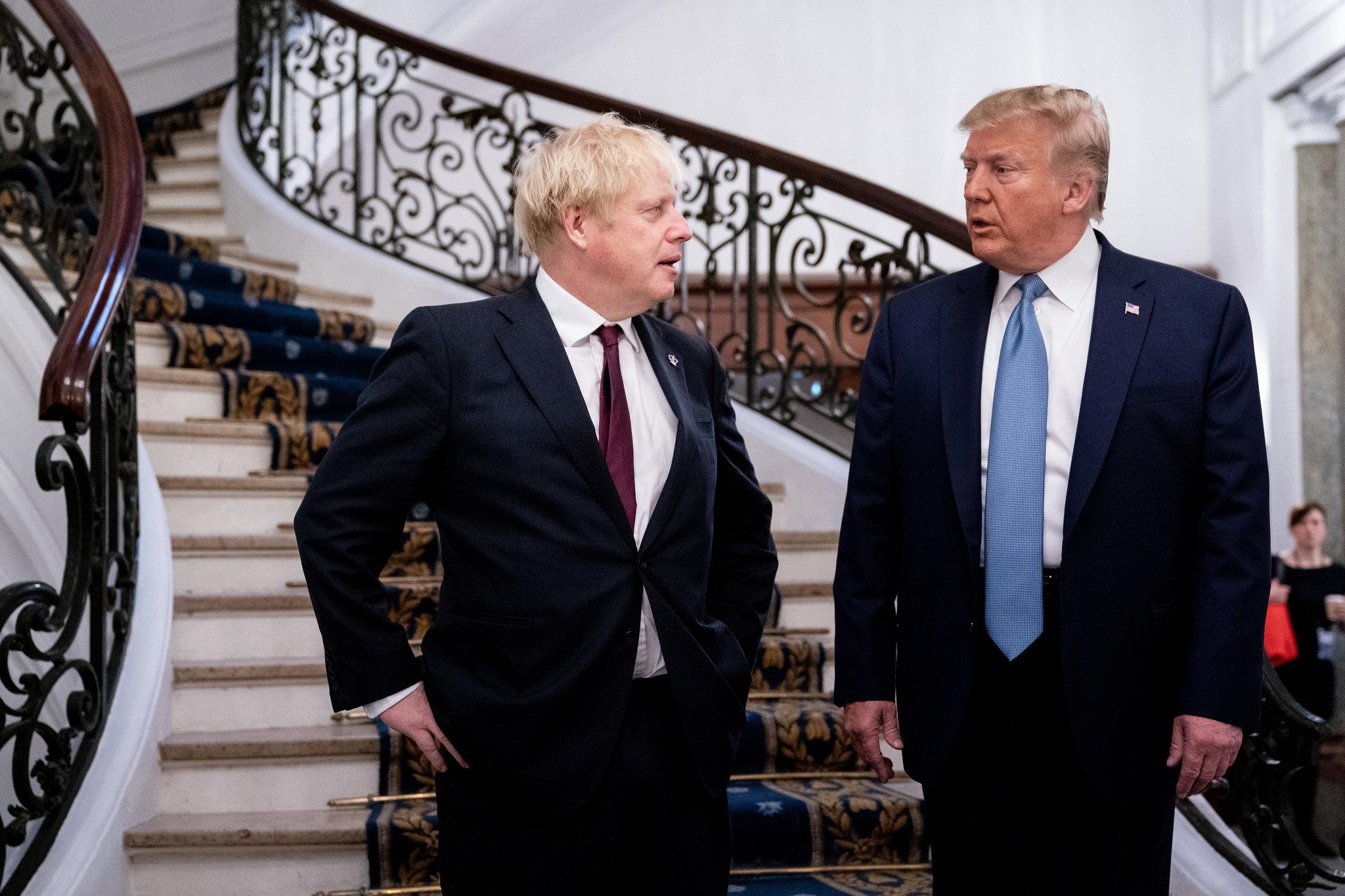 Johnson'dan Trump'a: Kayıtsız, şartsız kınıyorum!