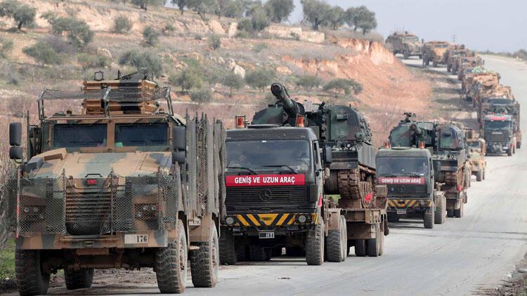 TSK'dan İdlib'e askeri sevkiyat!