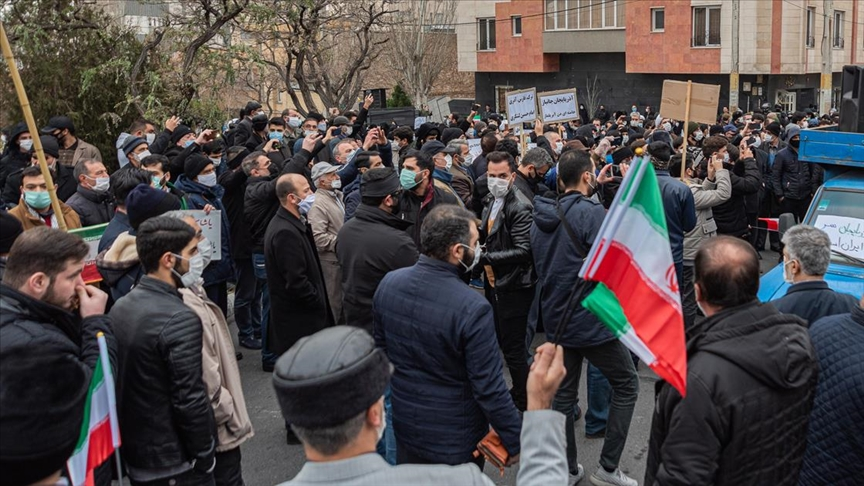 İran'da Türkiye karşıtı protesto gösterisi!