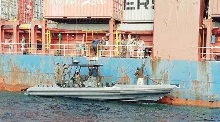 Hafter güçleri, Türk gemisini serbest bırakıldı