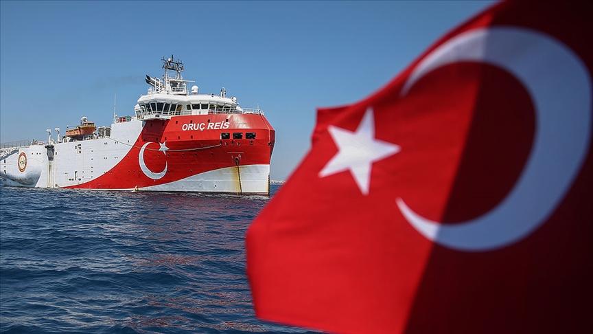 Doğu Akdeniz'de Oruç Reis gemisi için yeni Navtex ilanı