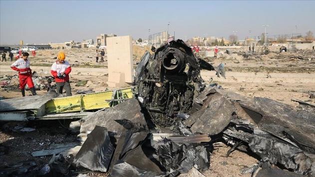 Ukrayna'da düşürülen uçakla ilgili İran'dan açıklama