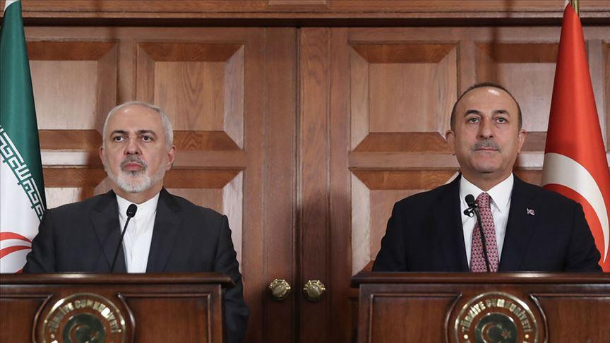 Çavuşoğlu, Zarif'le Bakü'deki şiir krizini görüştü