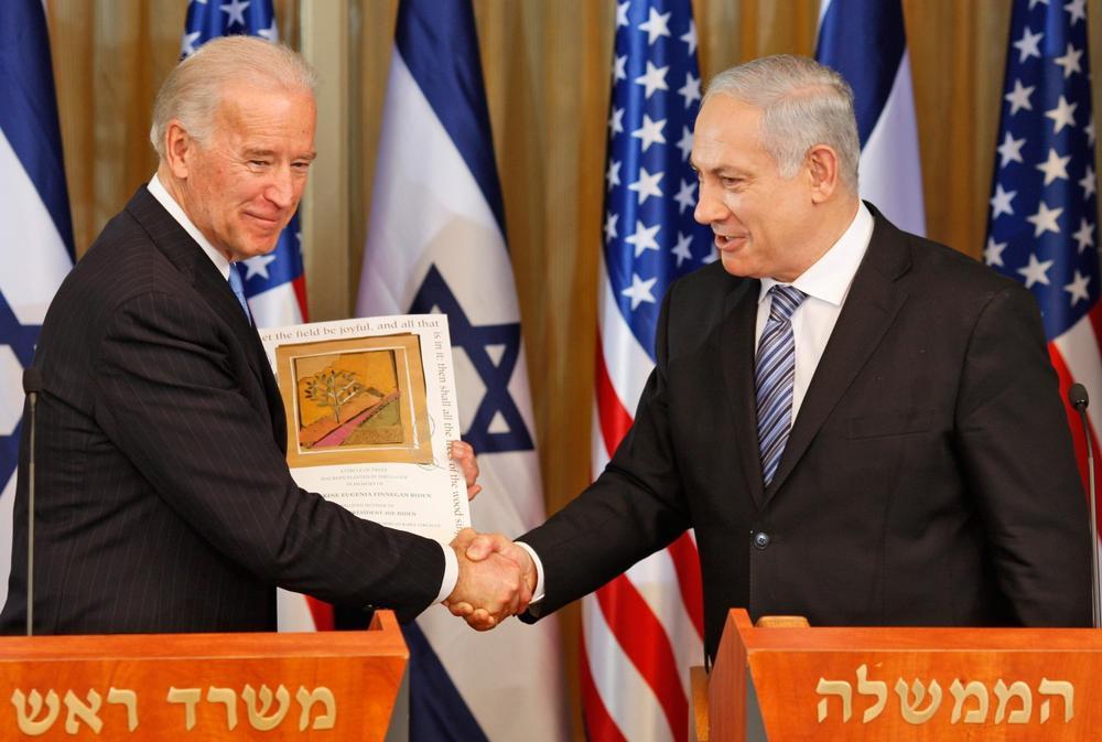 ABD: Biden, Orta Doğu'da ilk Netanyahu ile görüşecek