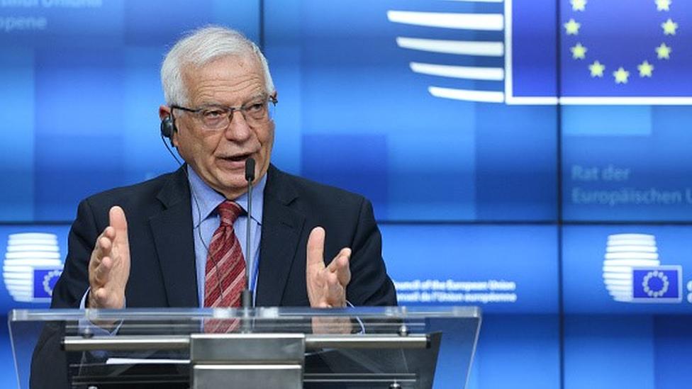 Borrell: Moskova ziyaretimde saldırıya uğradım