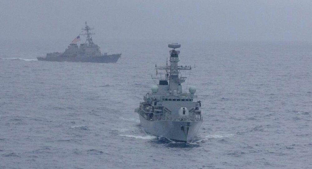 ABD savaş gemisi, Çin'in karasularına izinsiz girdi!