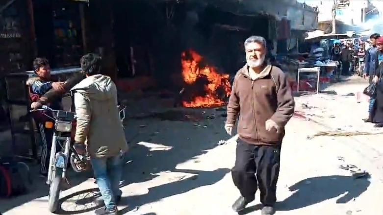 Deyr ez Zor'da bombalı saldırı: 3 ölü, 5 yaralı