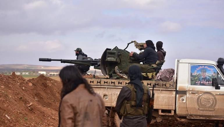 Efrin'de SMO arasında şiddetli çatışma: Ölü ve yaralılar var