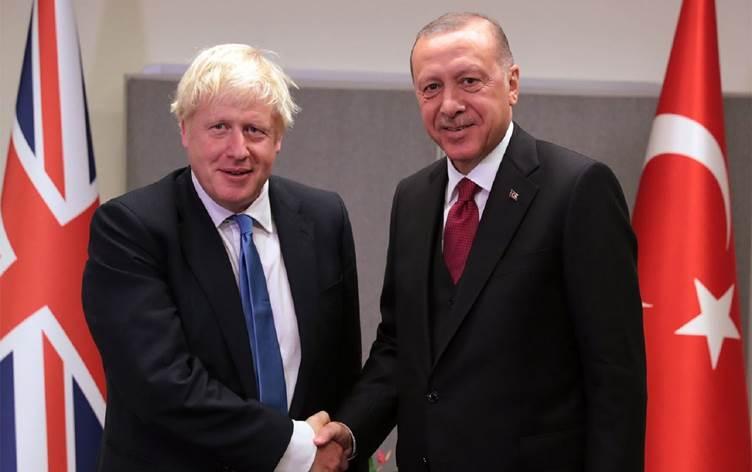 Erdoğan ve Johnson'dan, Doğu Akdeniz görüşmesi!