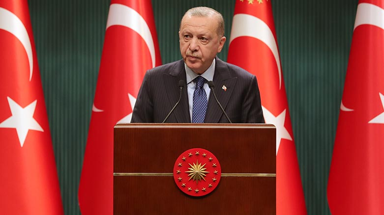 Erdoğan: Kademeli normalleşme sürecini başlatıyoruz