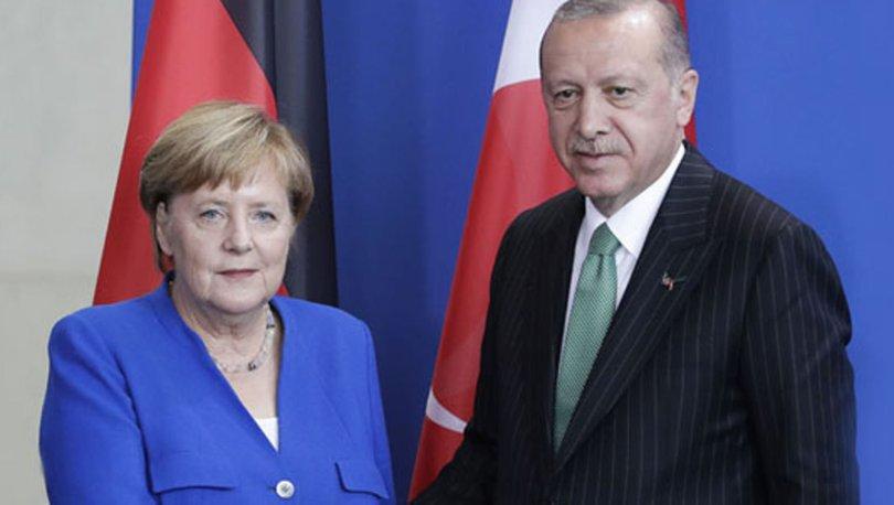 Erdoğan ve Merkel'den bölgesel konulara ilişkin kritik görüşme