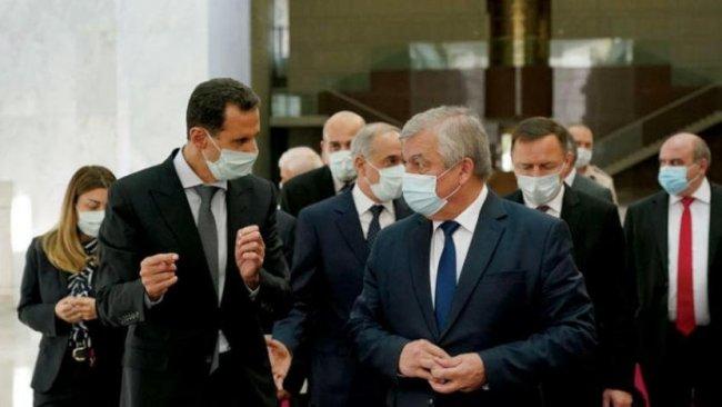 Putin'in Temsilcisi'nden Şam'a gizli ziyaret