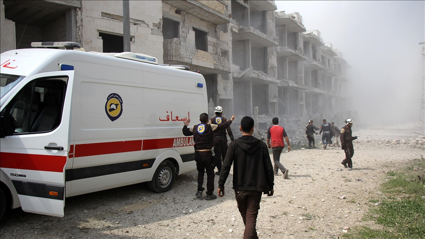 Halep'te 2 ayrı bölgeye balistik füze saldırısı!