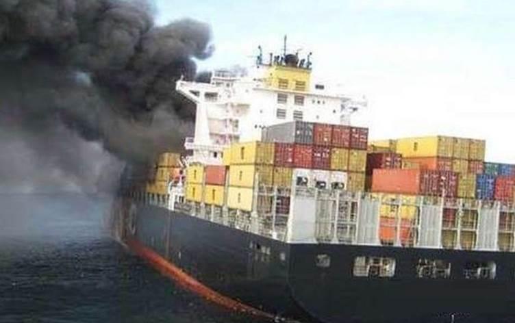 İran gemisine Akdeniz'de bombalı saldırı!