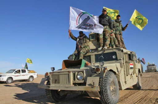 Haşdi Şabi milisleri, Suriye sınırında çekildi!