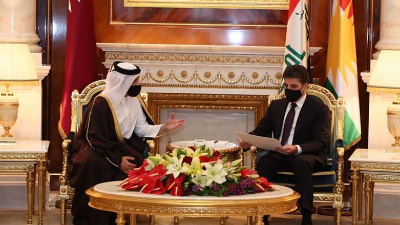 Neçirvan Barzani'ye Katar Başbakanı'ndan resmi davet!