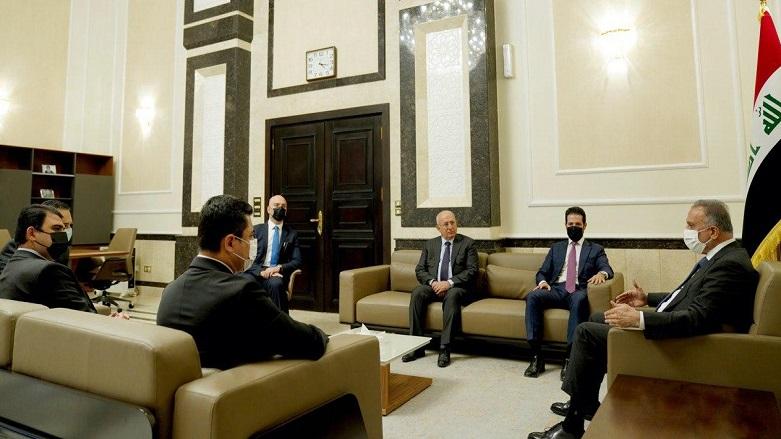 Kürdistan heyeti, Kazımi ile Erbil saldırısını görüştü