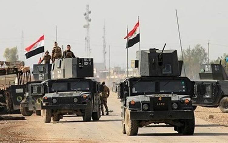 Irak ordusu ve Koalisyondan Kerkük'te IŞİD'e operasyon