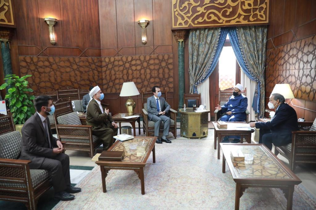 Başbakan'dan Ezher Şeyhi Tayyib'e Kürdistan daveti!