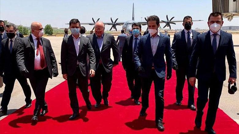 Kürdistan heyeti, müzakereler için Bağdat'ta!