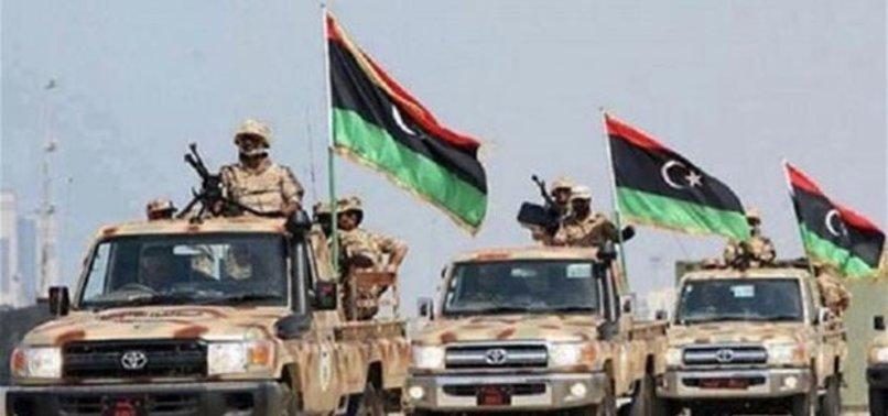 Libya yönetimi, sınıra askeri birlikler konuşlandırdı