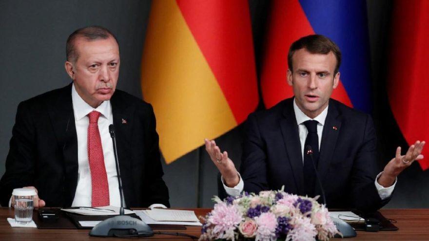 Macron ve Erdoğan, uzun bir aradan sonra ilk kez görüştü