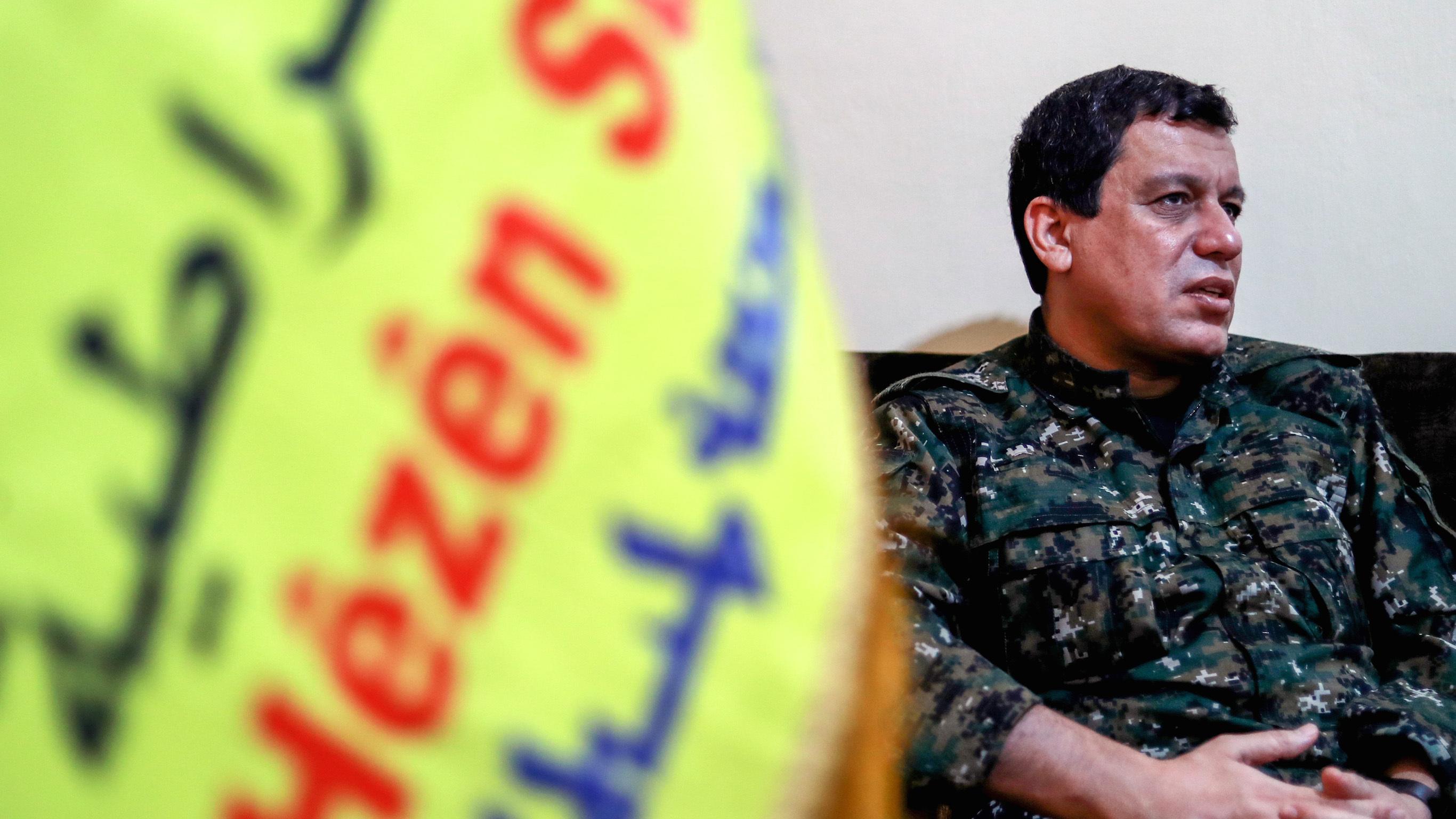 Mazlum Kobani'den Mesrur Barzani'ye teşekkür mesajı