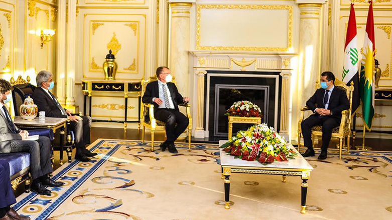 Başbakan, Fransız ve Alman heyet ile görüştü