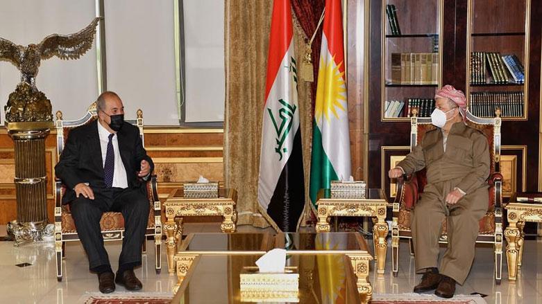Başkan Barzani ve Allavi, Irak'taki son süreci ele aldı