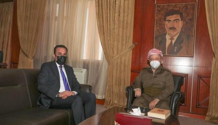 """Başkan Barzani: """"Erbil'de herkese eşit mesafede hizmet edin"""""""