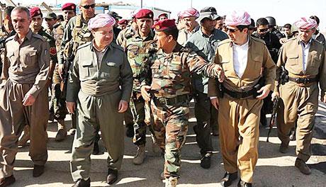 """Başkan Barzani: """"IŞİD, Kürt kahramanlarının eliyle yenildi"""""""