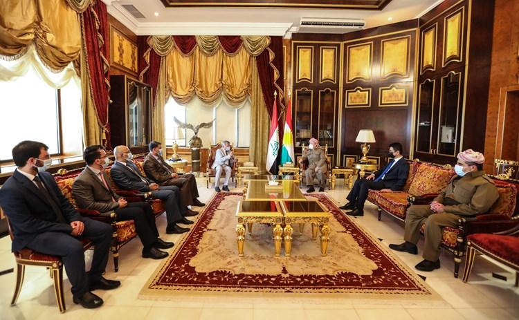 Başkan Barzani, Erbil-Bağdat görüşmelerine dikkat çekti