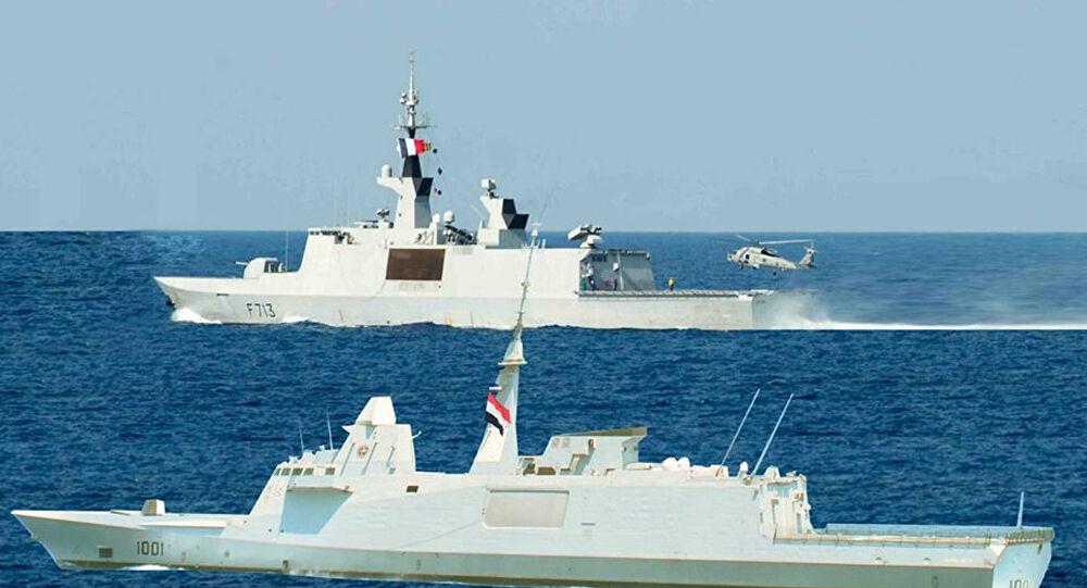 Mısır ve Fransa'dan Akdeniz'de askeri tatbikat!