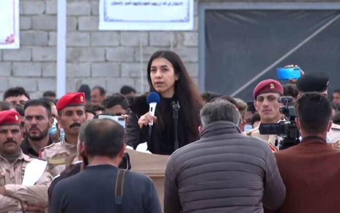 Nadia Murad: Ezidi Kürtler inançları nedeniyle hedef alındı