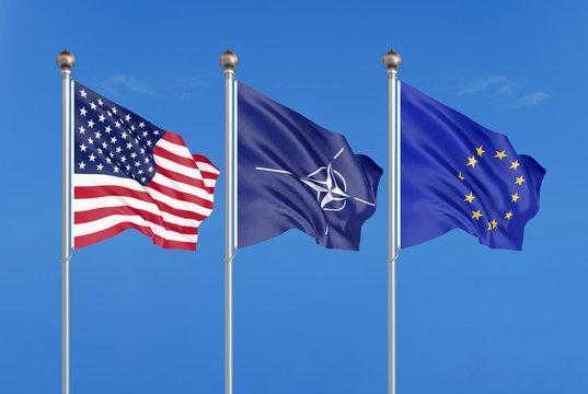 AB ve NATO'dan ABD'ye destek: Rusya'ya karşı yanındayız