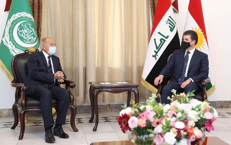 Arap Birliği'nden Neçirvan Barzani'ye Kahire daveti!