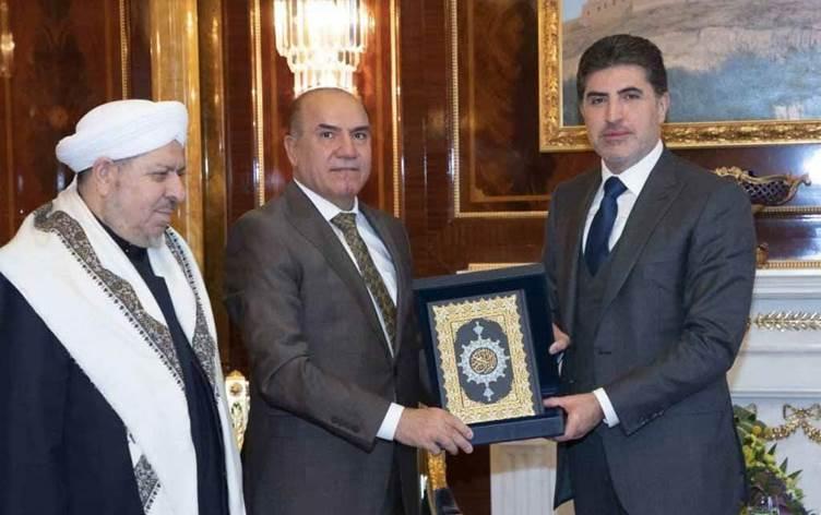 Neçirvan Barzani: Tüm bileşenlerin hakları güvence altına alınmalı