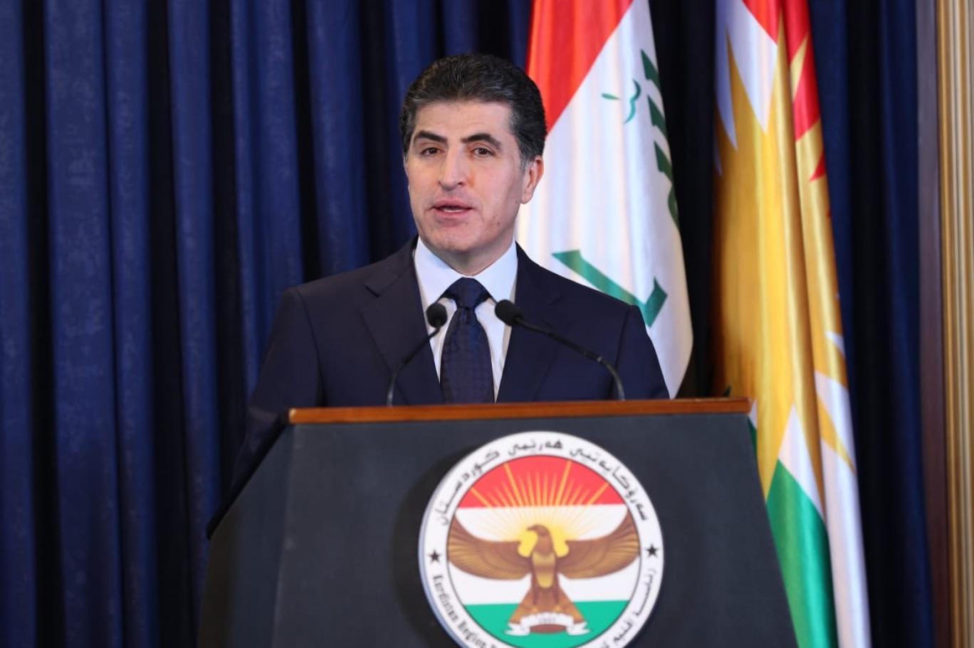 Neçirvan Barzani'den ABD askeri üs saldırıya kınama!