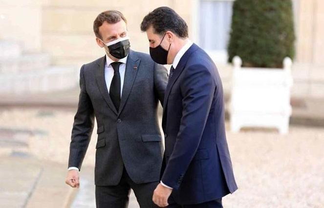Macron'dan Kürdistan ve Peşmerge'ye destek sözü