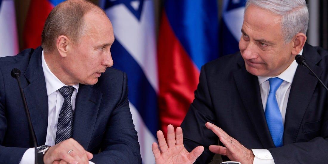 Putin ve Netanyahu'dan Orta Doğu görüşmesi!