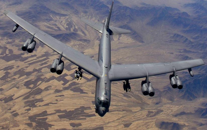 ABD'nin bombardıman uçakları Orta Doğu'da!